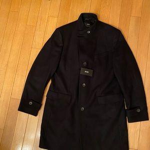 Hugo Boss wool coat